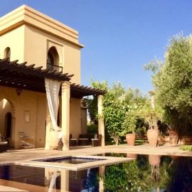 Marrakech La Palmeraie, villa de 450 m2 sur parcelle de 3 700 m2
