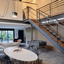 Loft avec terrasse et parkings, 3 chambres, Villenave d'Ornon