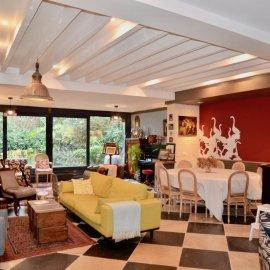 Bordeaux Croix Blanche, maison bourgeoise restaurée avec jardin, 7 chambres, terrasse, balcon