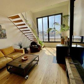Bordeaux Chartrons, Loft en triplex, 4 chambres, garage, terrasse, jardin 20 m2